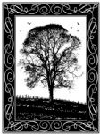 Winter Tree Crafty Individuals Stamp (CI-181)